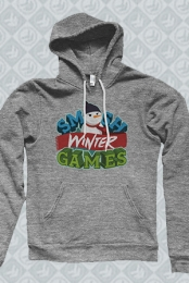 Winter Games Pullover Hoodie (Heather Grey)