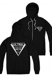 Ultra Violent Rays Zip Up Hoodie