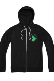 Clintus Logo Zip-Up Hoodie - Youth