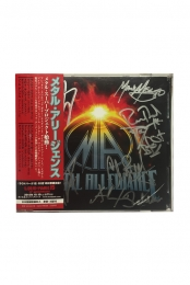 Signed Japanese Edition CD/DVD
