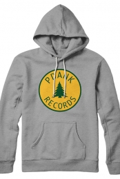 PDANK Records Hoodie (Heather Grey)
