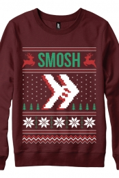 Snow Day Sweatshirt (Garnet)