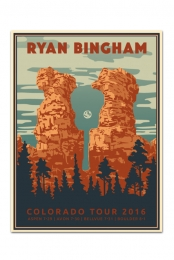 Colorado Tour Poster