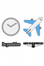 Timeflies Enamel Pins (Set Of Four)