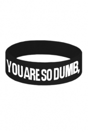 So Dumb Wristband