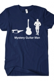 Mystery Guitar Man Icons (Navy)