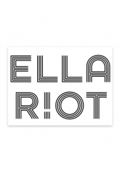 Ella Riot Sticker