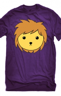 Lion Face (Purple)