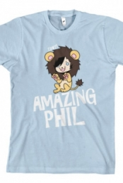 Phil in a Lion Suit (Light Blue) Amazing Phil