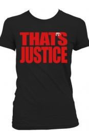 That's Justice (Womens Black)