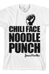 Chili Face Noodle Punch (White)
