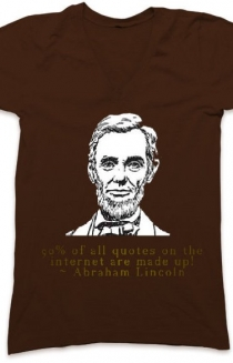 Abraham Lincoln Quote VNeck