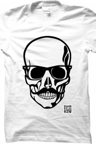 hipster skull - thezachleeshow Merch - Official Online Store on ...