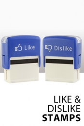 Like & Dislike Stamps GEEKY GIFTS