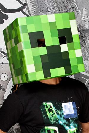 Minecraft Creeper Head Accessory