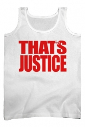 That�s Justice Tank (White)