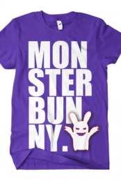 Monster Bunny (Purple)