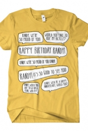 Happy Birthday Randy (Mustard)