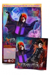 Evolution CD + Signed Dahvie Poster