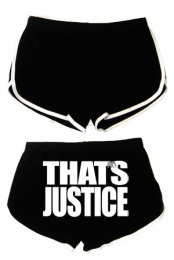 That's Justice Shorts (Black)