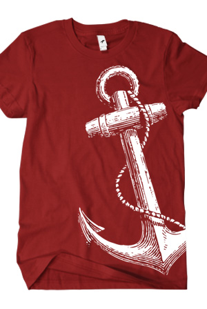 Ahoy Nateo Anchor T Shirt Ahoynateo T Shirts Official