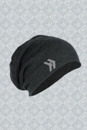 Slouchy Charcoal Beanie