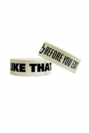 I Like That Wristbands (White) - Before You Exit