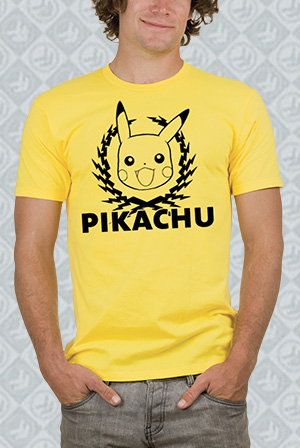 Pikachu Electric Laurel Tee
