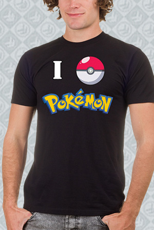 I Ball Pokemon Tee