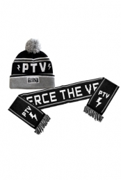 Knit Cap and Scarf Set - Pierce The Veil