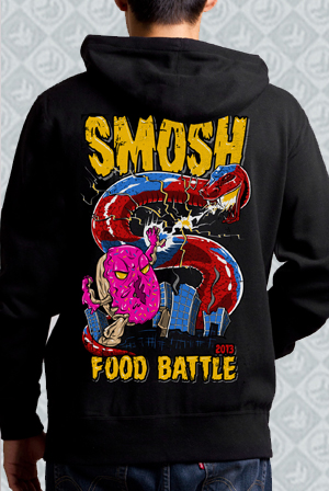 Food Battle 2013 Zip Up