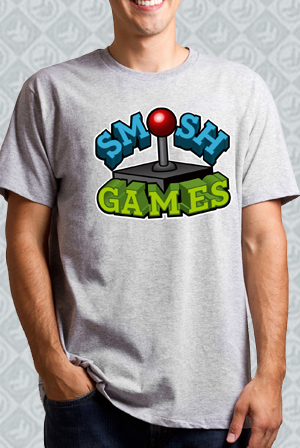 Smosh Games Heather Grey Tee