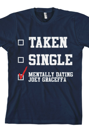 mentally dating a celebrity shirt Discover mentally dating grant gustin t-shirt from mrch, a custom product made just for you by teespring with world-class production and customer support, your satisfaction is guaranteed.
