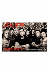 229 Warped Tour 2007 Sub Cover (8/07)
