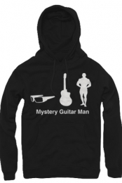 Mystery Guitar Man Icons Hoodie