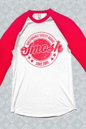 Questionable Quality Humor Baseball Tee (Red)