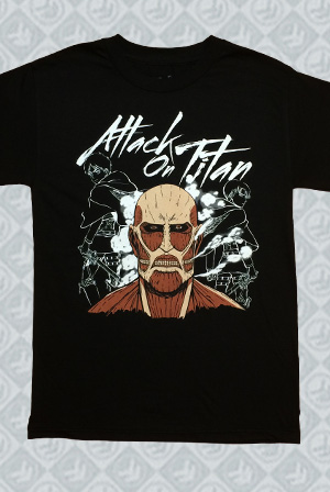 Attack On Titan Colossal Tee