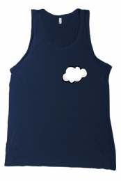 Cloudii Tank (Navy)