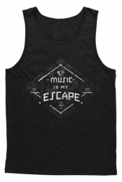 Music Is My Escape Tank