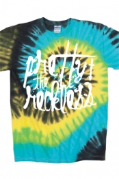 Ink Drip Tie Dye Tee (Tropical)