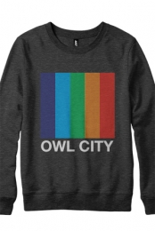 Color Bars Crewneck Sweatshirt (Heather Black)