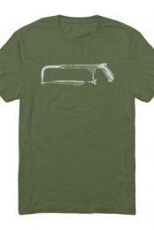Hackensaw Logo Tee (Military Green)