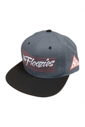 The Floozies Snapback (Red And Grey)