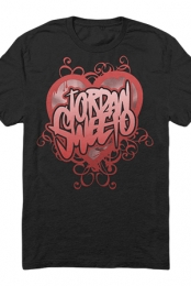 Red Heart Tee (Black)