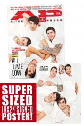 319.1 All Time Low + Signed 18x24 Poster (Bed)
