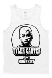 Tyler Carter Is My Homeboy Tank (White)