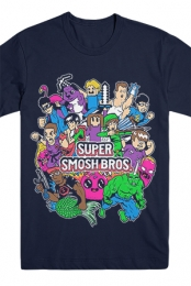 Super Smosh Brothers Tee (Navy)