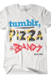 Tumblr, Pizza & Bands