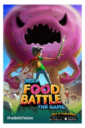 Signed Food Battle The Game Limited Edition 24x35 Print