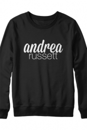 Andrea Name Sweatshirt (Black)